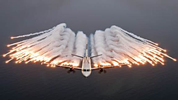 flare pesawat